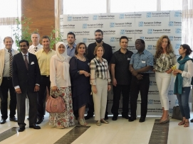 İstanbul'da Uluslararası Bir Eğitimden (Yıl 2015)
